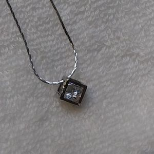 Jewelry - Magic cube silver necklace